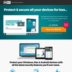 ESET - Antivirus and Internet Security for Multiple Devices - Protect 3 PC and/or Mac + 3 Android Devices - $69.95 (Save $109)