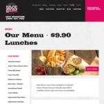 Hog's Australia's Steakhouse $9.90 Lunches (7 Options)