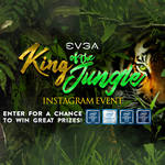 Win Motherboards, Cases, PSU's, Coolers and Mice from EVGA King of the Jungle Event