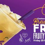 Free Fruity Ice Tea - Chatime 20/10 11am-6pm [QV Melbourne VIC]