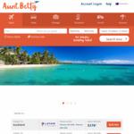 $30 off All International Return Flights @ Aunt Betty