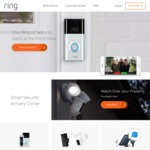 Free Chime with Ring Doorbell ($329) / Ring Camera ($379) Purchase @ Ring.com