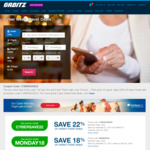 Orbitz 22% off Hotel Bookings
