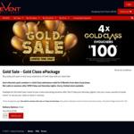 Event Cinemas - 4 Gold Class Evouchers for $100*