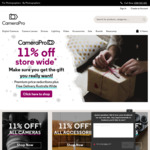 11% off Storewide and Free Shipping @ CameraPro