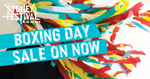 Sydney Festival Boxing Day Sale. Tickets for $26 + $5.95 BF Per Order. Save up to $95 Per Ticket [SYD]