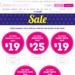 All Kids' Sets $19, Sale Men and Women Tops & Shorts $15, Nighties $25, Women's Sets $29, Baby Sets $15 @Peter Alexander Shipped