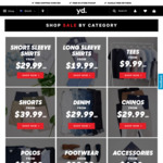30-75% off at YD: Hyden Skinny or Cahn Slim Suit $100, $10 T-Shirts, $30 Denims & Chinos