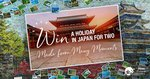 Win a Tour of Southern Japan for 2 Worth $12,170 from Japan National Tourism Organisation