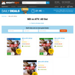 [PS4, Xbox One] MX vs ATV: All Out $39, PC Version $32 (+ $5.99 Shipping) @ MightyApe