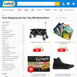 Free Shipping on the Top 500 Best Selling Items (No Minimum Spend) @ Catch
