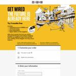 Free YubiKey 4 with WIRED Magazine - Three Mths Trial + 1 Year Digital Subscription US $19.99 / AUD $27.08