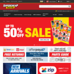 $20 Credit for Every $50 Spent on Chief Oil @ Supercheap Auto