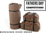 """Win a """"King Brown"""" Swag or Set of Heavy Duty Travel Bags from Murchison River Swags"""
