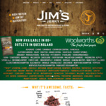 Free Shipping ($30 Min Spend) for Father's Day + Dad's Bags for $35 Each @ Jim's Jerky