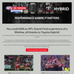 Win a Trip for 2 to Melbourne for The 2018 AFL Grand Final Worth $7,000 from Seven Network