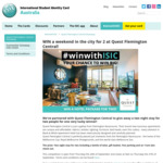 Win a Weekend in The City for 2 at Quest Flemington Central from ISIC