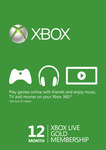 Xbox Live Gold 12 Month Membership (VPN Required) $35.59 @ CDKeys