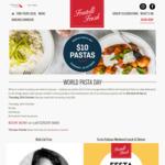 [NSW] $10 Pasta Dishes for World Pasta Day 25/10 (Thurs) @ Fratelli Fresh