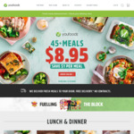 6 x YouFoodz Meals for $33.80 Delivered
