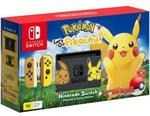 Nintendo Switch Pokemon Let's Go Console Pikachu! Edition + Poke Ball Plus $509.15 + Delivery (Free with eBay Plus) @ Big W eBay