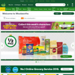 Get $15 off $200 and Free Delivery @ Woolworths Online