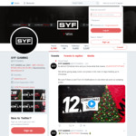 Win 1 of 12 Gaming Prizes from SYF Gaming's 12 Days of Christmas Giveaway