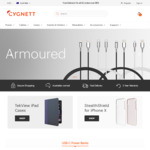 20% off All Products (Excluding Armoured Cables) @ Cygnett