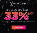 [Pluralsight] Save 33% Annual Subscription   Personal $199USD + GST   Premium $299 + GST