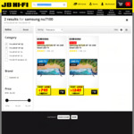 "Samsung 55"" UA55NU7100W 4K TV $795, Samsung NU7100 65"" UA65NU7100W 4K TV $1245 C&C (Or + Delivery) @ JB Hi-Fi"