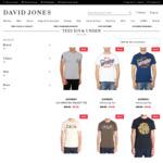 $19 Superdry, Deus Ex Machina, G-Star, Levis T-Shirts (+ Postage or Free C&C) @ David Jones