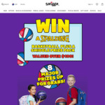 Win 1 of 8 Spalding Basketball & Smiggle Product Prize Packs Worth $150 from Smiggle