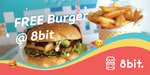 Free Burger @ 8bit (New User) Equivalent of $11.50 via Liven Mobile App