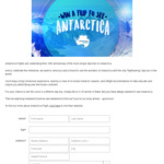 Win a Trip for 2 to See Antarctica Worth $2,398 from Sunrise Channel Seven