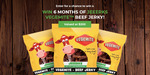 Win a JEEERKS' 6 Month Supply of Vegemite Beef Jerky Valued at $200