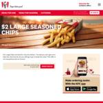 Large Chips $2 (Excludes SA) | Mates Burger Box $31.95 @ KFC