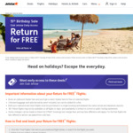 Jetstar Return for Free: Melbourne/Sydney to Auckland $197, Honolulu $279, Phuket $319, Bangkok $289, Queenstown $253 + More