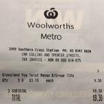 [VIC] Gippsland Mango & Blood Orange Yogurt 720g $3.10 (Was $7.70) Each @ Woolworths Metro Southern Cross Station