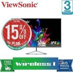 [eBay Plus] ViewSonic Ultra-Slim VX3276-2K 32in WQHD IPS LCD Monitor $262.65 Delivered @ Wireless1 eBay