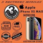 [eBay Plus] Apple iPhone XS MAX 256GB Space Grey $1649 Delivered (AU Stock) @ 3 Brothers Mobiles eBay