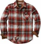 CQR Men's Flannel Long Sleeved 100% Cotton Brushed Shirt $23.98 + Shipping ($0 with Prime/ $39 Spend) @ Amazon AU