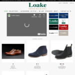 Black Friday up to 17% off: Goodyear Welted Full Leather Shoes from $128 + Shipping (Free Shipping over $200) @ Loake Shoes