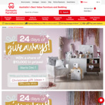 Win a Share of $10,000 Worth of Daily Prizes from Fantastic Furniture's Christmas Giveaway