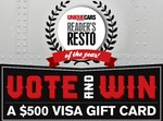 Win a $500 VISA Gift Card from Bauer Media