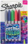 Sharpie Colour Marker 5 Pack $2 @ The Reject Shop ($1.90 P/B at OW) Save $7.99