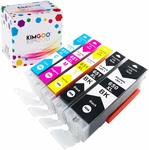 20% off (Kimgoo Compatible PGI-650 XL Cli-651 Ink Cartridges, from $8.76) + Delivery ($0 Prime/ $39 Spend) @ JINXI Amazon AU