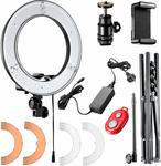 "Neewer 14"" LED Ring Light Kit - $57.59 + Free Shipping @ Neewer Global AU Amazon AU"