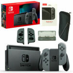 [Pre Order] Nintendo Switch Grey with GameWill Accessory Bundle $424.96 Delivered @ The Gamesmen eBay