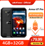 Ulefone Armor X7 Pro Android10 Rugged Phone 4GB RAM +32GB Smartphone US$87.99 (~A$128.63) Delivered @ Ulefone AliExpress