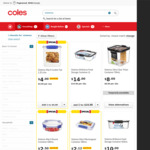 Half Price: Decor and Sistema Plastic Food Containers (Cookie Tub 2.35 Litre $4, was $8) @ Coles